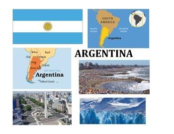 ARGENTINA UNIT (GRADES 4 - 8)