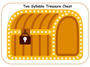 ARGH!!! Pirate Multisyllabic Treasure Chests