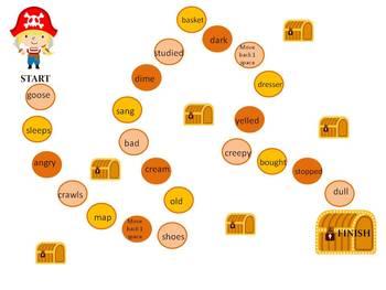 ARGH! Pirate Nouns,Adjectives, and Verbs