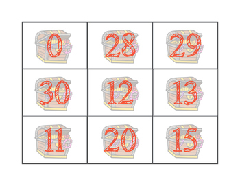 ARGH! Number Recognition game (numbers to 30)