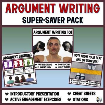 Argument Writing Super-Saver Pack