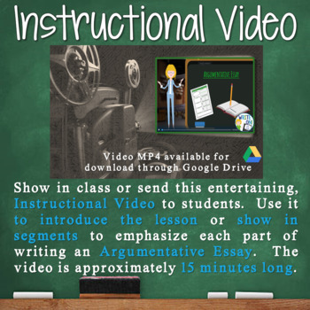 Argumentative Writing Essay Prompt Cheating in School | Distance Learning