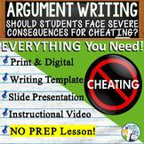 Argumentative Writing Lesson Prompt w/ Digital Resource -