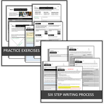 ARGUMENTATIVE & INFORMATIVE WRITING ESSAYS BUNDLE - INCLUDING DIGITAL EXERCISES