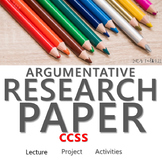ARGUMENTATIVE RESEARCH PAPER UNIT WITH DIGITAL EXERCISES