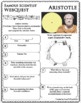 ARISTOTLE - WebQuest in Science - Famous Scientist - Differentiated
