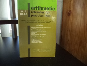 ARITHMETIC ISBN 0-486-21241-6