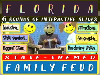 FLORIDA FAMILY FEUD! Engaging game about cities, geography, industry & more
