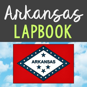 ARKANSAS State History Lapbook Project, State Symbols, Stress-Free Design