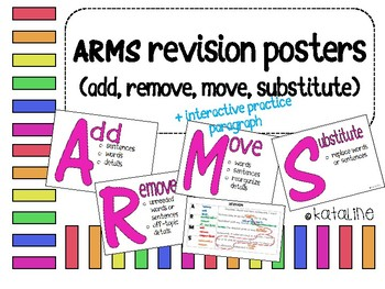 ARMS Posters (Add, Remove, Move, Substitute)