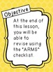 ARMS Revision Checklist - Free