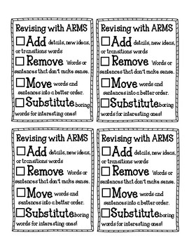 ARMS Checklist