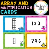 ARRAY MATCHING GAME MULTIPLICATION TASK CARDS