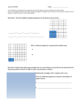 ARRAYS REVIEW (FOR MY ASSESSMENT)