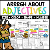 ARRGH About Adjectives: Adjectives That Tell Size, Color, Shape, and Number