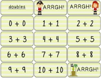 ARRGH!! Addition and Subtraction 1.OA.6 and  2.OA.2