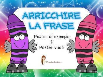 ARRICCHIRE LA FRASE