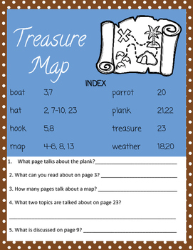 ARRR! Pirate Common Core Language Arts Printables
