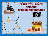 ARRR YOU READY FOR OUR SPEECH ADVENTURE? Speech Bulletin Board Set