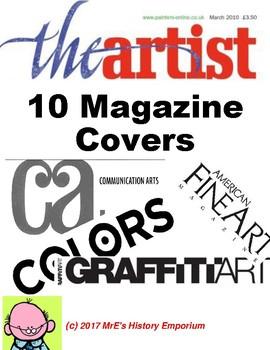 ART  12 Magazine covers