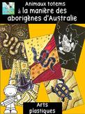 ART ABORIGENE : peindre des Animaux Totems