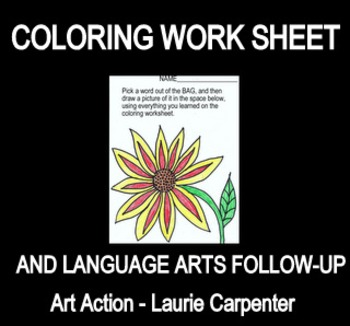 Coloring Worksheet and Follow-up Lesson