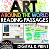 ART Around the World Reading Passages Google Classroom Fra