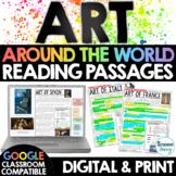 ART Around the World Reading Passages | Google Classroom