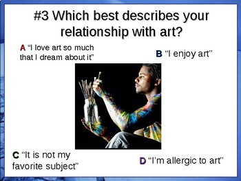 """ART CLASS """"FOUR CORNERS"""" Get-to-know-you game - ice breaker for the arts"""