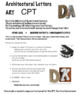 ART - CPT project LETTERS