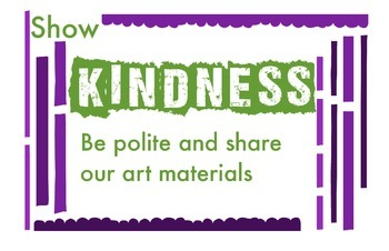 ART Character Education Posters - Kindness