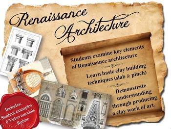 ART Clay Renaissance Architecture Models (3D Art, Sculptur