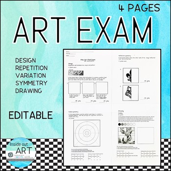 ART EXAM: Design and Drawing