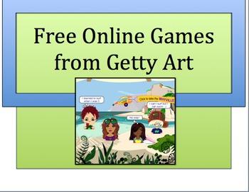 ART: FREE ONLINE ART RELATED GAMES