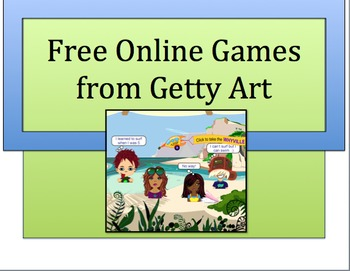ART: FREE ONLINE ART RELATED GAMES