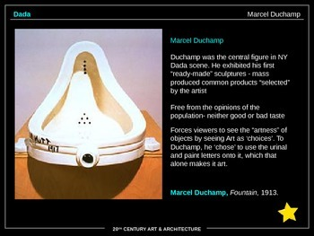 ART HISTORY: 20th Century Art - 342 SLIDES!