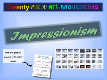 "ART HISTORY ""IMPRESSIONISM"" 25 rich slides w/ graphics, sa"