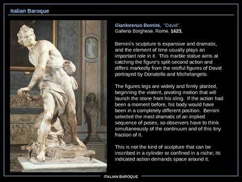 ART HISTORY: Italian Baroque
