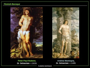 ART HISTORY:  Spanish and Flemish Baroque