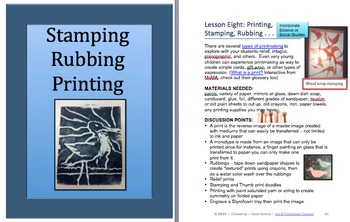 ART K-5: Art Lessons You Can Teach With Limited Resources