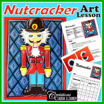 Nutcracker : Christmas Art Activity and Lesson Plan