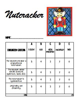 Nutcracker : Christmas Art Activity and Lesson Plan