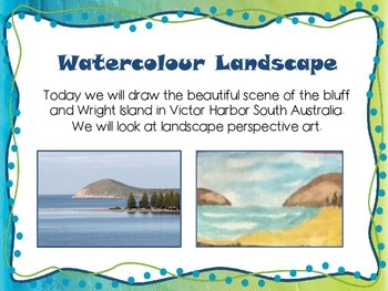 ART LESSON WATER COLOUR LANDSCAPE MADE EASY