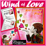 Art Activity and Lesson Plan For Kids: Wind of Love - Mother's and Father's Day