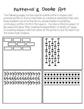 ART & LITERATURE: Rosie's Walk Patterns & Doodle Art