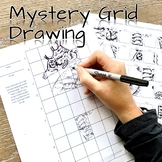 ART Mystery Scramble Grid Drawing