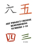ART PROJECT CHINESE REMEMBERING NUMBERS 1-10