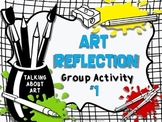 ART REFLECTION ACTIVITY #1