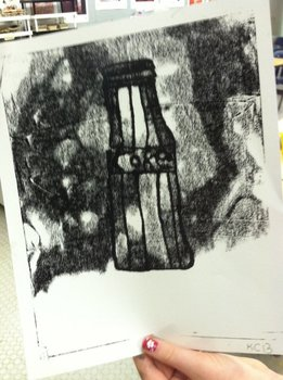 ART! Trace Monoprint Printmaking Without A Press!