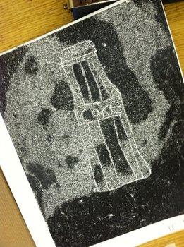 ART! Trace Monoprint Printmaking Without A Press!